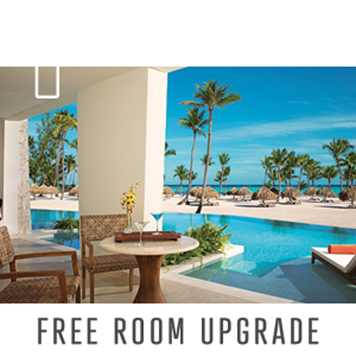 Free room upgrade with pool view